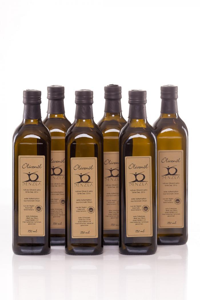 6 x 750 ml Denzel Olivenöl