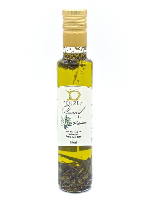 Denzel Olivenöl 4 Kräuter 250 ml