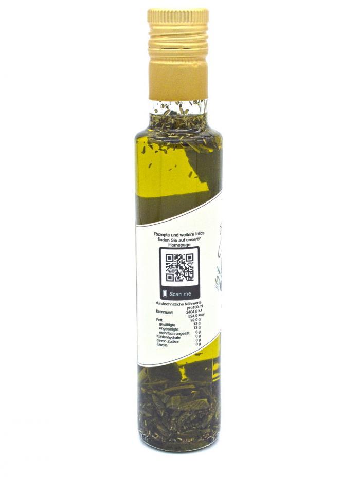 Denzel Olivenöl 4 Kräuter Nährwerte