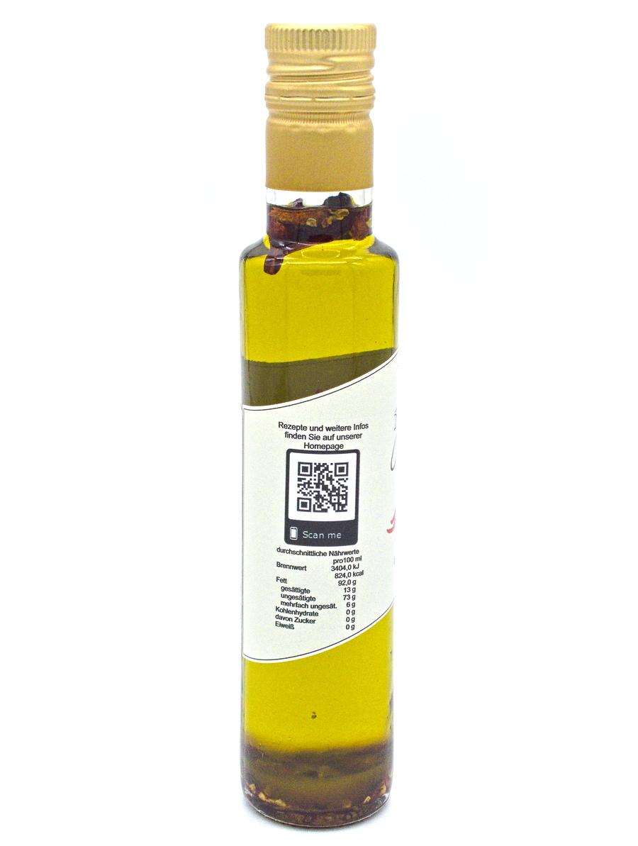 Denzel Olivenöl Chili Nährwerte