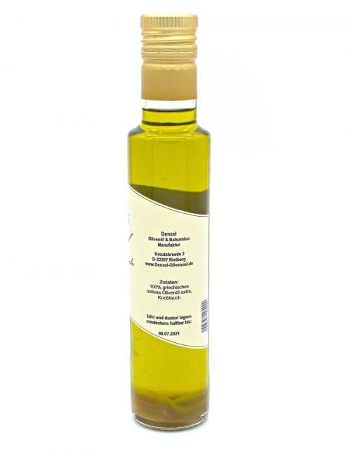 Denzel Olivenöl Knoblauch Zutaten