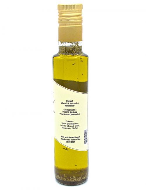 Denzel Olivenöl Rosmarin Zutaten