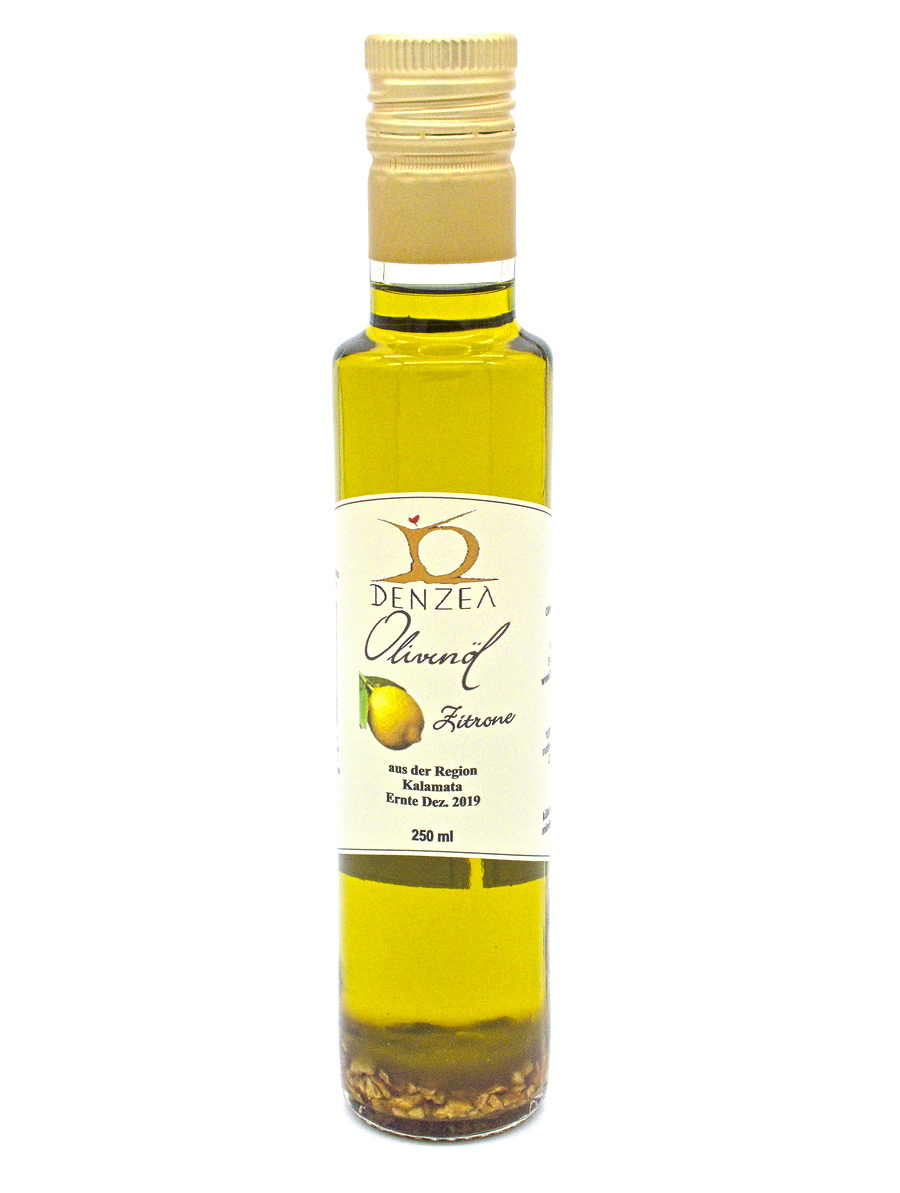 Denzel Olivenöl Zitrone 250 mi