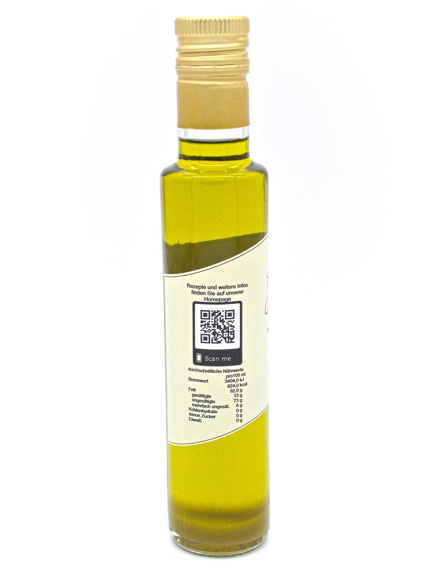 Denzel Olivenöl nativ extra Nährwerte