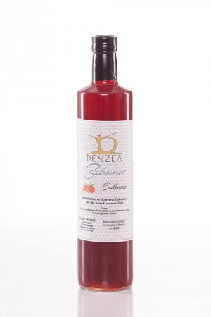 750 ml Erdbeer Balsamico - Detail