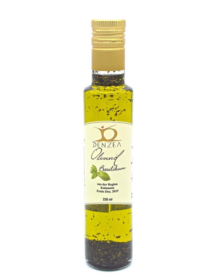Denzel Olivenöl Basilikum 250 ml