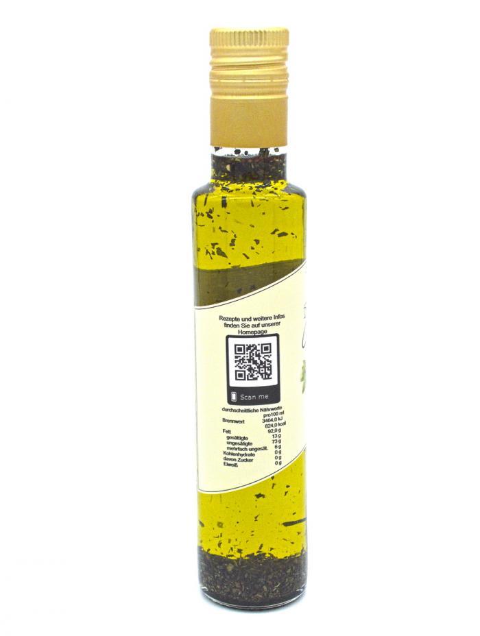 Denzel Olivenöl Basilikum Nährwerte