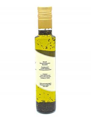 Denzel Olivenöl Basilikum Zutaten