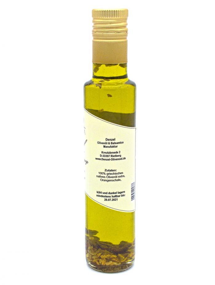 Denzel Olivenöl Orange Zutaten