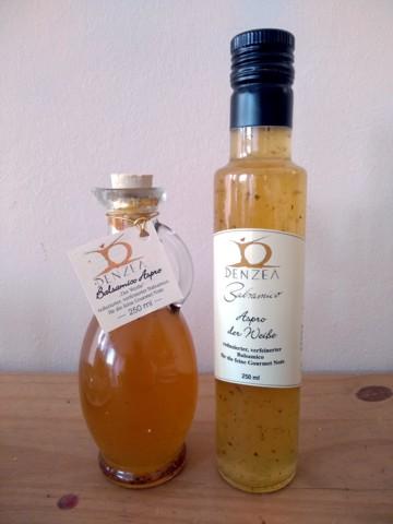 neue Balsamico Flasche
