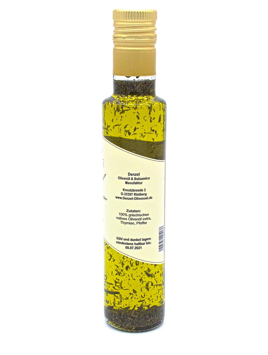 Denzel Olivenöl Thymian Zutaten