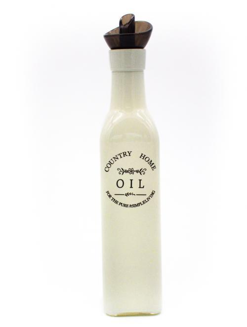 oil bottle white